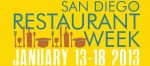 DELICIOUS DINING, DAYTIME OR DINNERTIME DURING SAN DIEGO RESTAURANT WEEK