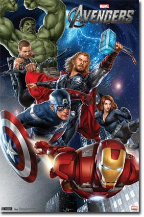 The Avengers (2012) Movie Scene Draw by ulitata on DeviantArt