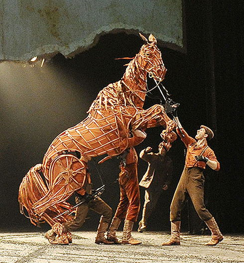The 2011 Tony Award-Winner for Best Play Best Direction Scenic Lighting and Sound Design War Horse uses breathtaking ... & WAR HORSEu201d CHARGES INTO ORANGE COUNTY : Rage Monthly Magazine