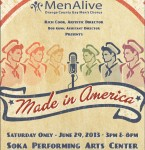 "MENALIVE PRESENTS ""MADE IN AMERICA"""