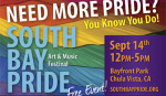 FROM PICNIC TO PRIDE: 2013 SOUTH BAY PRIDE ART & MUSIC FESTIVAL