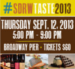 2ND ANNUAL #SDRWTaste2013 KICKS OFF SAN DIEGO RESTAURANT WEEK