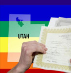 GAY COUPLES' RUSH TO MARRY IN UTAH GRINDS TO A HALT
