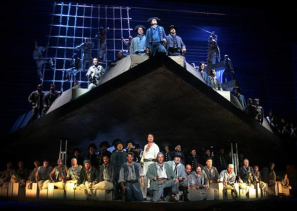 the tension between billy and claggart in the novella billy budd by herman melville Billy budd, sailor is the final novel by american writer herman melville, first published posthumously in london in 1924 as edited by raymond m weaver, a professor.