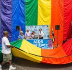 AIDS FOOD STORE OF LONG BEACH TO UNVEIL NEW GIANT PRIDE FLAG