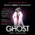 GAYS GO TO 'GHOST': A SASSY DAY OF BRUNCH, BOOZE & BROADWAY