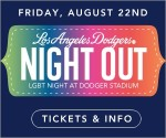 LGBT NIGHT OUT AT DODGER STADIUM