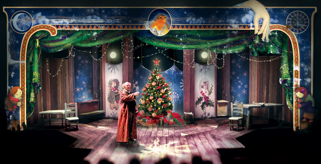 CYGNET THEATRE'S 'A CHRISTMAS CAROL' Setting the Scene with Andrew ...