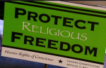 """INDIANA GOV. MIKE PENCE SIGNs DISCRIMINATORY """"RELIGIOUS FREEDOM"""" BILL INTO LAW"""