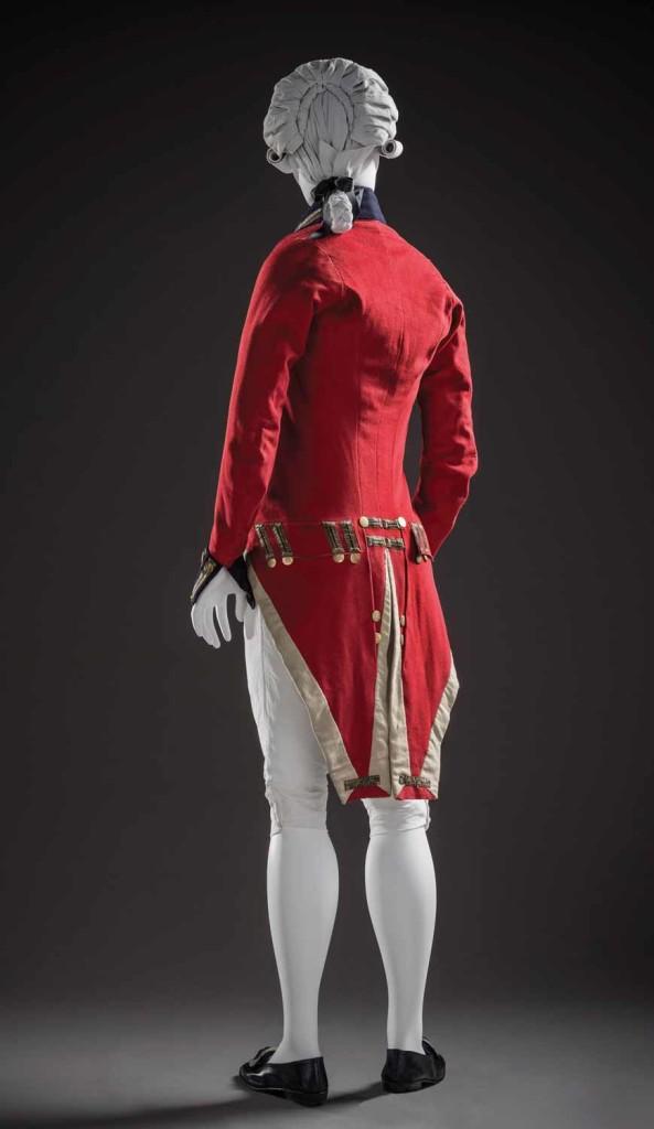 army uniform ensemble, england, c1799-1800 lacma collection