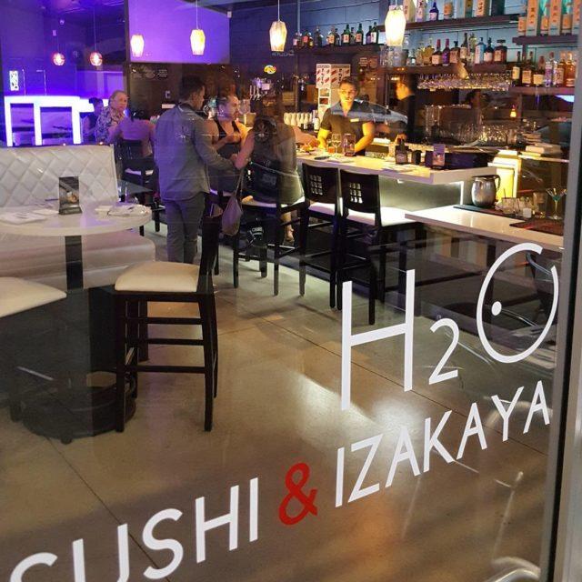 h2osd Hillcrests newest Sushi bar  restaurant yum Hillcrest LGBT