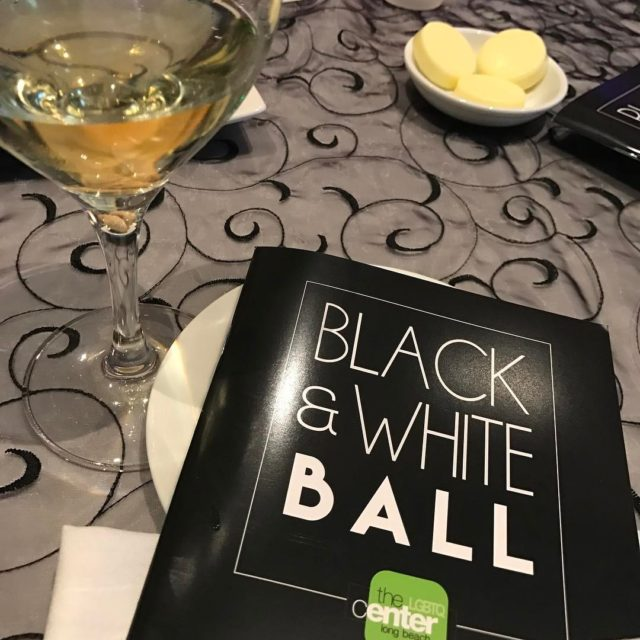 Celebrating the centerlb tonight at the Black amp White Ball!hellip