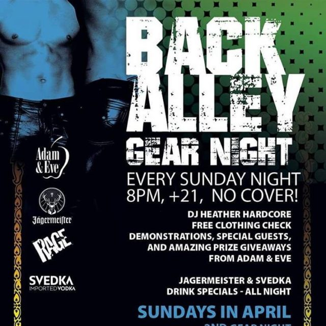 Sunday nights at 8pm No cover BACKALLEYSD TheMerrowSD