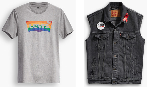 80401d51bb7ad8 Levi s Announces 4th Annual Pride Collection   Rage Monthly Magazine