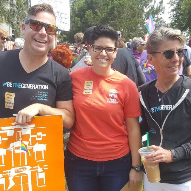 Scenes from todays Equality March in San Diego! Way tohellip