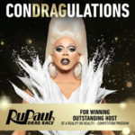 RuPaul Wins 2nd Consecutive Emmy Award for Reality Host