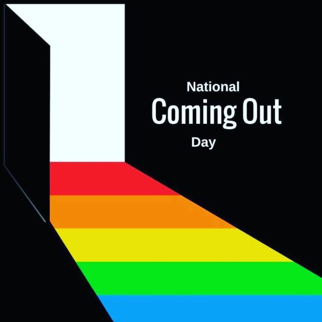 Happy Coming Out Day outnproud
