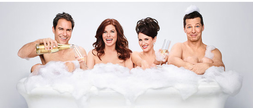 THEY'RE BACK! The Return of Will & Grace & Jack & Karen
