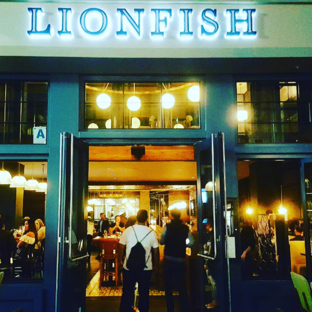 Yummy treats at Lionfishyour new happy hour spot downtownlionfishsd