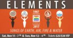 SAN DIEGO WOMEN'S CHORUS Presents an Evening of Elemental Connections