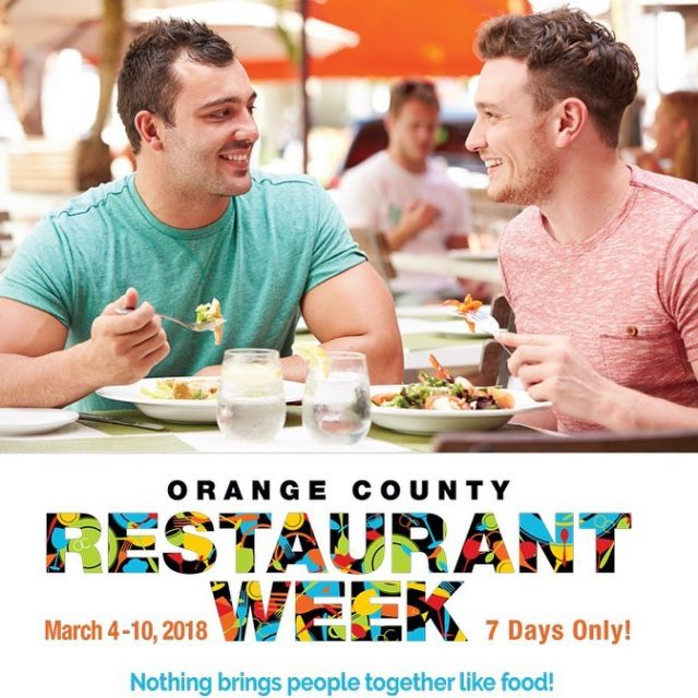 Hope youre getting hungry! Orange County Restaurant Week is backhellip