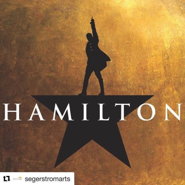 Repost segerstromarts with getrepost  Tickets for HAMILTON go onhellip