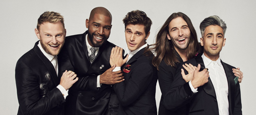 QUEER EYE: THE NEW FAB FIVE FOR 2018